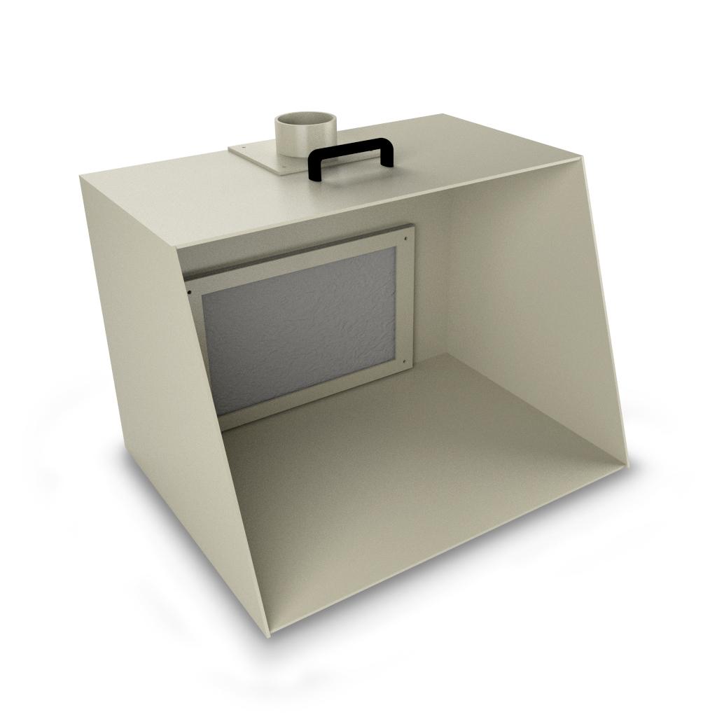 Cabina di verniciatura per modellismo 700 lor ca for Sostituzione filtro aria cabina 2014 f150