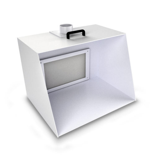 Cabina di verniciatura per modellismo mod.700