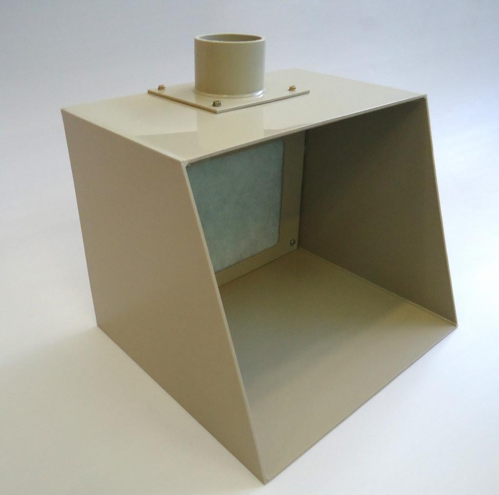 Cabina di verniciatura per modellismo 500 lor ca for Sostituzione filtro aria cabina 2014 f150