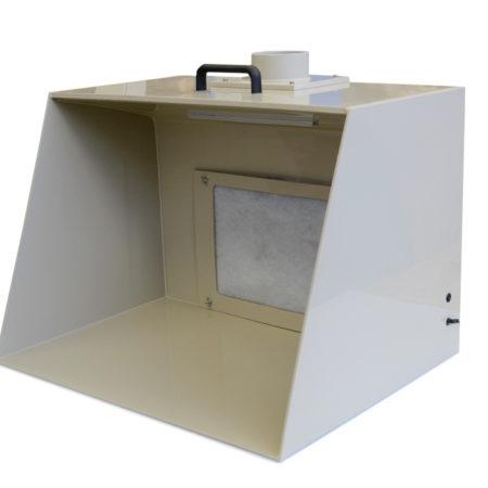Cabina di Verniciatura per aerografi / modellismo, modello 700