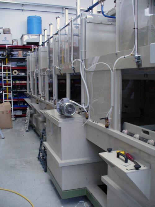 A0022 -Satinatrice vetro automatica